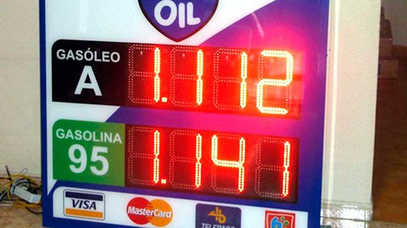 preciarios para gasolinera